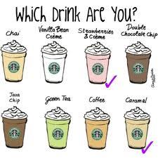 Different Kinds Of Starbucks Drinks