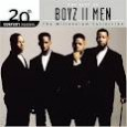 I've been listening to Boyz II Men lately. This came about from watching The Sing Off, a show on which  Shawn Stockman, one of the boyz, is a judge. I'm in no...